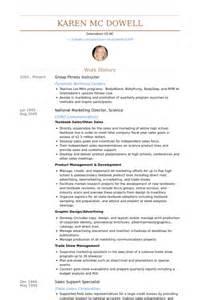 Fitness Instructor Resume Samples Visualcv Resume
