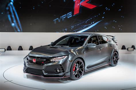 Type R by 2017 Civic Type R Prototype Hd Photo Gallery X Auto