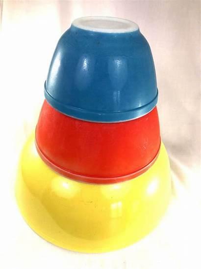 Mixing Pyrex Bowls Preown Condition