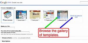 free technology for teachers google sites adds templates With google sites template gallery