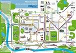 Madrid Bus Tourist Map - Madrid Spain • mappery