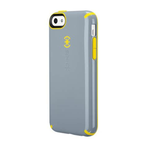 speck iphone cases speck candyshell for iphone 5c grey yellow
