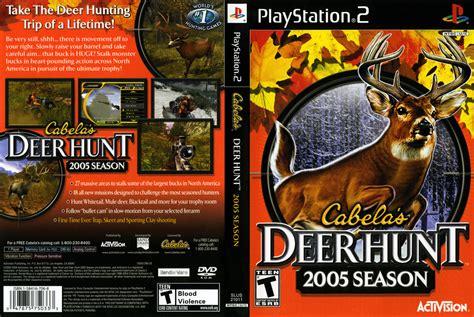 Cabelas Deer Hunt 2005 Season PS2 Cover Scan