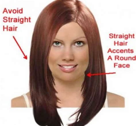 Long Hairstyle For Fat Round Face ~ Best Haircuts
