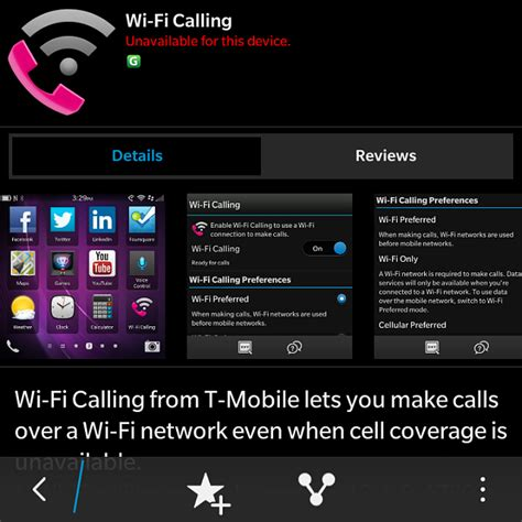 wifi phone app wifi calling app by t mobile blackberry forums at