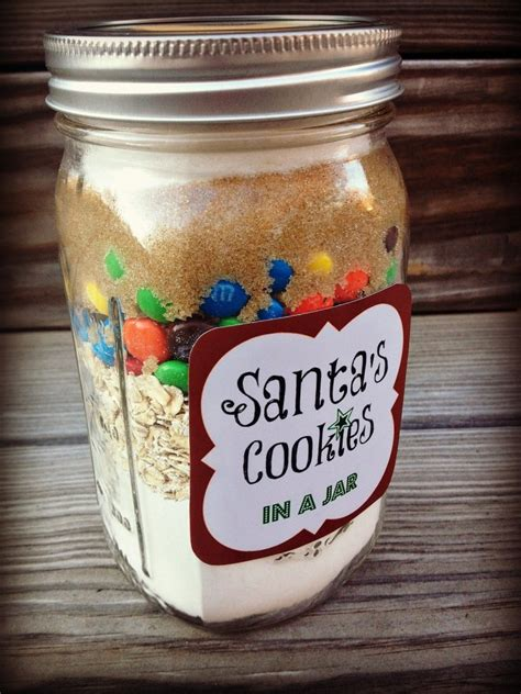 diy holiday baked gifts   jar   printable