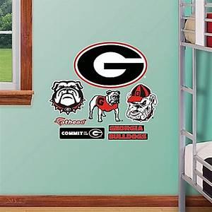 Buy Fathead® University of Georgia Logo Sheet Junior Wall