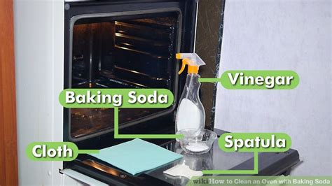 cleaning kitchen cabinets with baking soda how to clean an oven with baking soda 11 steps with 9420