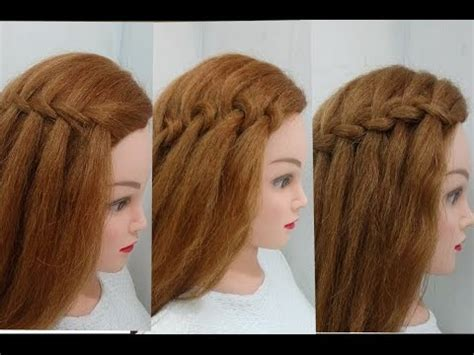 4 Types of Waterfall Braid: Easy Hairstyles YouTube