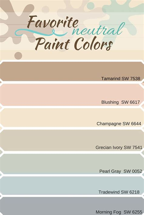 favorite neutral paint colors from sherwin williams