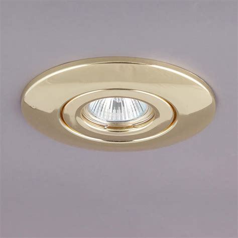 recessed brass downlight conversion kit  litecraft