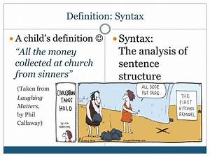 Ppt - Syntax Powerpoint Presentation