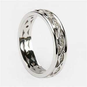 White gold celtic wedding rings amazing navokalcom for Celtic style wedding rings