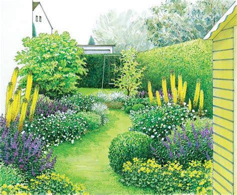 Ideen Für Einen Schmalen Gartenstreifen