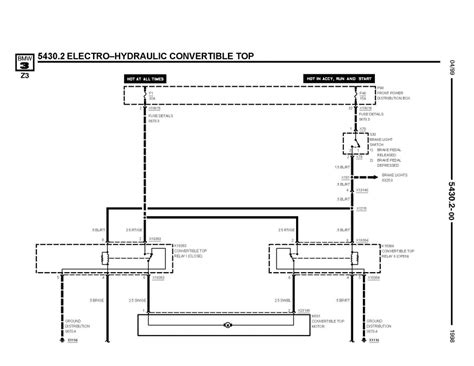 Z3 E36 Wiring Diagram by Z3 Remote Roof Closure Zroadster Net
