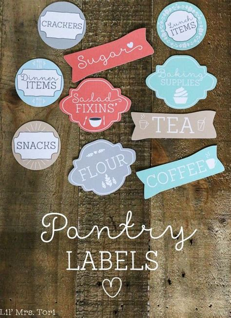 pantry labels  shabby creek cottage