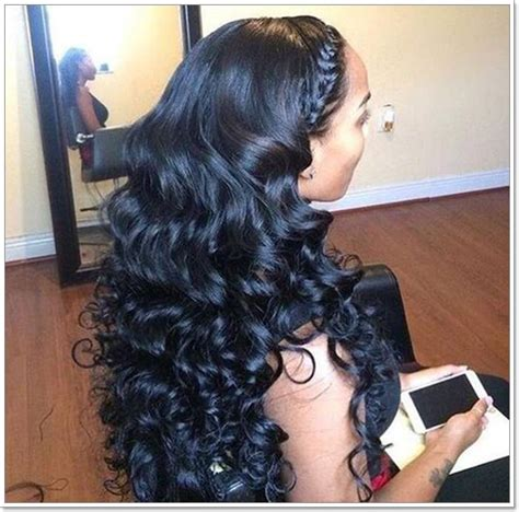 And Wavy Sew In Hairstyles Pictures by 58 Exciting Sew In Hairstyles To Try In 2019