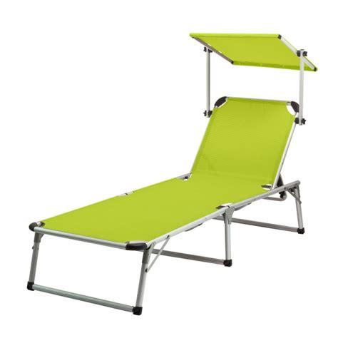 transat italien avec pare soleil chaise longue transat avec pare soleil vert anis quot colorado springs quot plein air cing