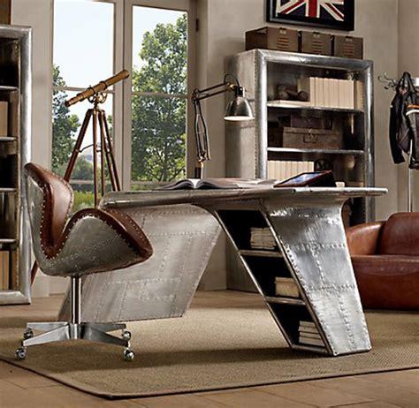 restoration hardware aviator desk chair luxury aviator furniture collection by restoration