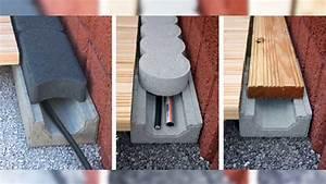 einfach und sicher neuer kabel schlauch kanal fur With französischer balkon mit garten kabel verlegen