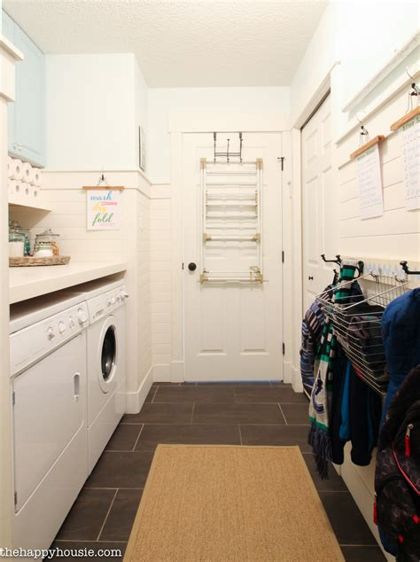 Five Steps to a Super Organized Small Space Mud Room or