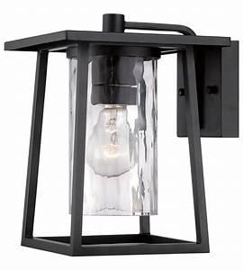 lodge 1 light 11 inch mystic black outdoor wall lantern in With kichler outdoor lighting australia