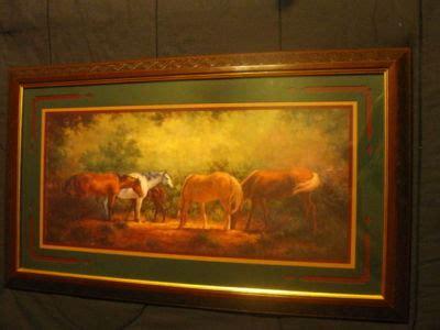 Retired Home Interior Horse Picture