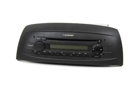 fiat punto  cd  autoradio player blaupunkt