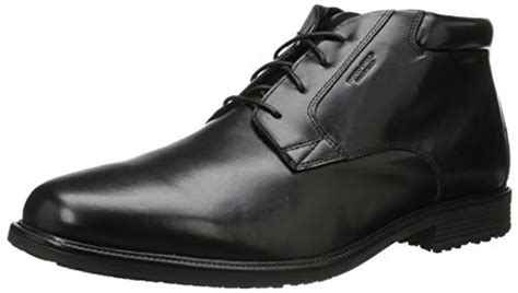 Xw Boat Shoes by Rockport S Essential Details Wp Chukka Boot Black 13