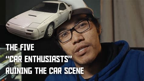 5 Types Of Car Enthusiasts Ruining Car Culture