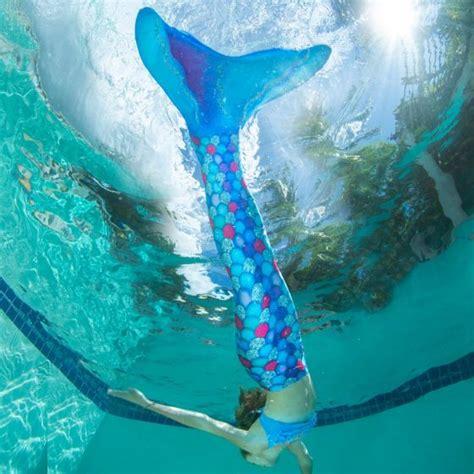 rainbow fish mermaid tail finfriends