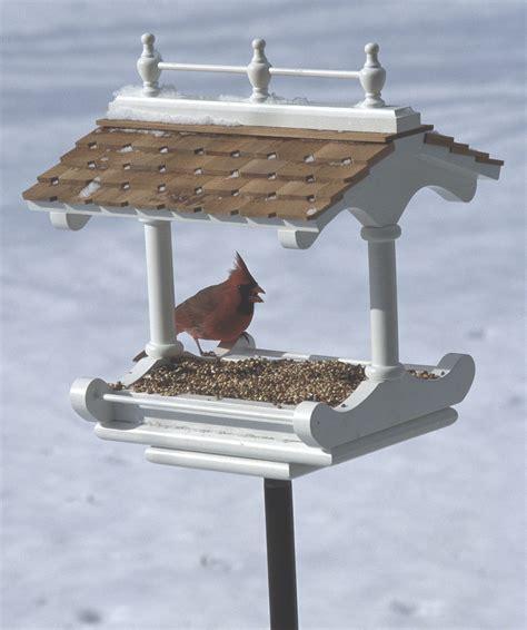 bird feeder plans style birdfeeder woodworking plan from wood magazine