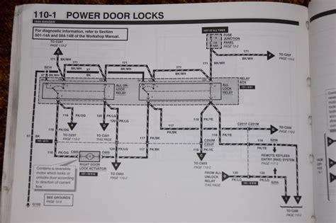 Wiring Power Door Locks Help Needed Ranger Forums The