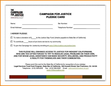 pledge card template 7 appreciation pledge card template legacy builder coaching