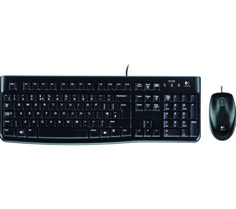 keyboard and mouse logitech mk120 keyboard mouse set deals pc world