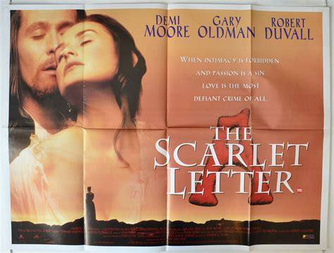 cineplex the scarlet letter the scarlet letter 1995 cinema poster demi 11571