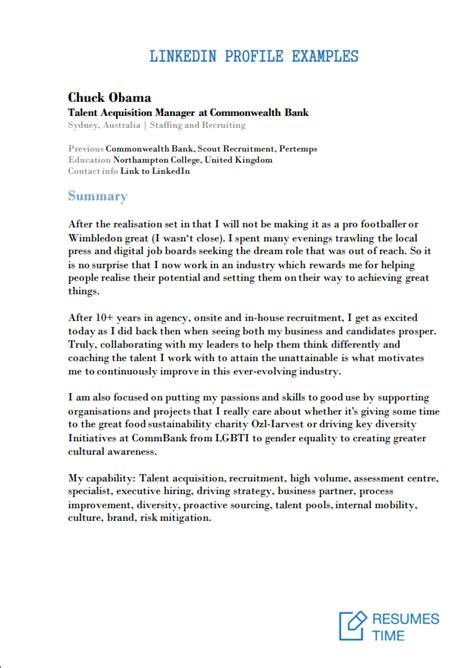 job resume summary examples mryn ism