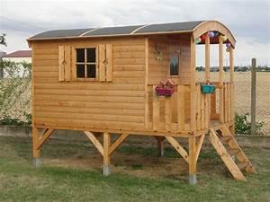 Cabane Enfant Leroy Merlin : cabane sur pilotis kit jardin ~ Melissatoandfro.com Idées de Décoration