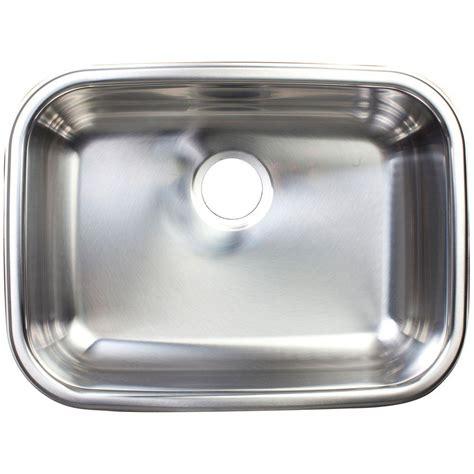 undermount stainless steel kitchen sink franke undermount stainless steel 24x18x8 0 hole single