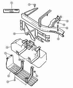 2005 Dodge Dakota Tube  Fuel Vapor Recirculation   22