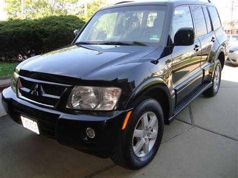 buy car manuals 2005 mitsubishi montero electronic valve timing buy used mitsubishi montero 2005 limited sport utility 4 door 3 8l in jersey city new jersey