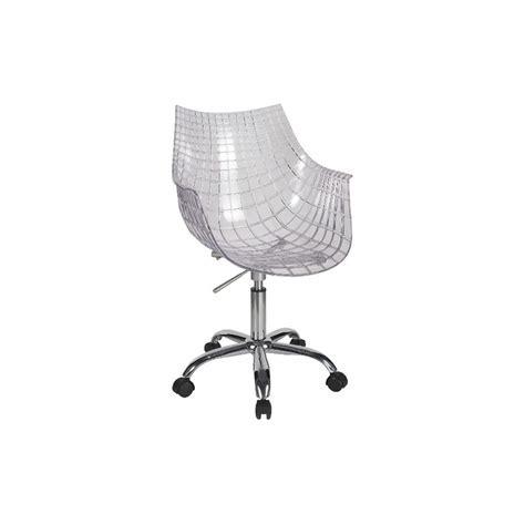 chaise de bureau transparente chaise de bureau design meridiana par driade design par