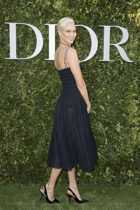 Karlie Kloss Christian Dior Photocall Haute Couture