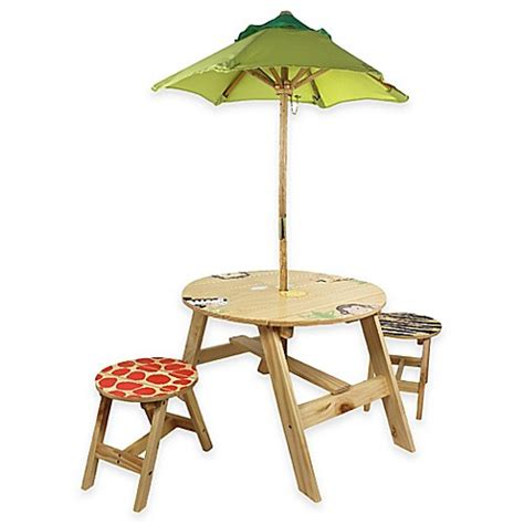 kids outdoor table and chairs buy teamson kids outdoor table and chairs set with
