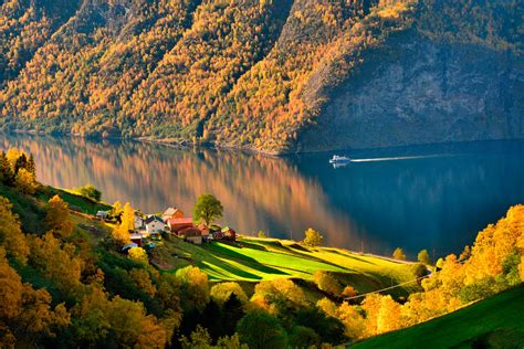 nature, Landscape, Trees, Water, Norway, Forest, Lake ...