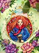 Mary and the witch's flower | Art, Flower art, Anime movies