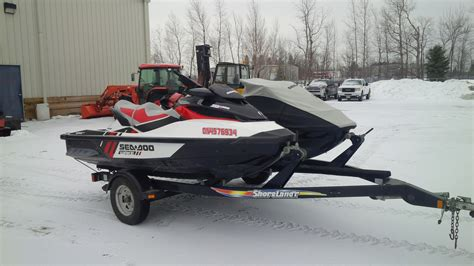 Sea Doo Boat Ontario by Sea Doo Wake Pro 215 2012 Used Boat For Sale In Ottawa