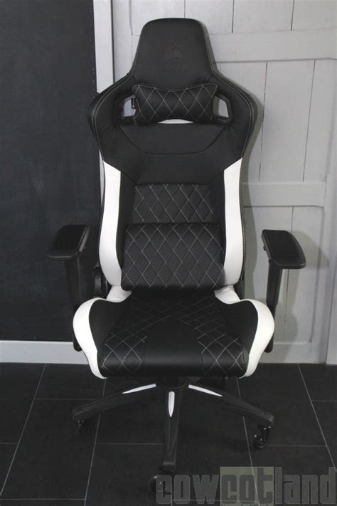 corsair choisir siege cowcot tv test fauteuil gaming corsair t1 race version