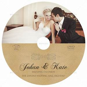 Wedding DVD Cover and DVD Label Template Vol.6 by ...