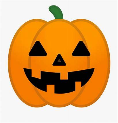 Pumpkin Halloween Clipart Jack Pumpkins Lantern Emoji